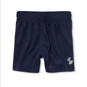 NWT PLACE Boys Dark Blue Gym Basketball Shorts 2T